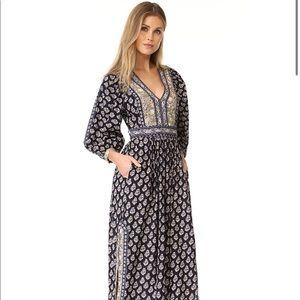 LA VIE REBECCA TAYLOR LONG SLEEVE INDIENNE DRESS